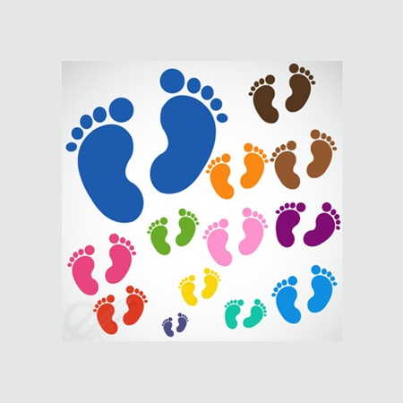 baby,child,colors,creative,design,download,elements,eps,graphic,illustrator,new,original,set,vector,web,svg,detailed,interface,unique,colorful,vectors,quality,stylish,fresh,high quality,ui elements,hires,baby feet,baby footprint,foot print vector