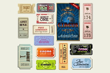 cinema,creative,design,download,elements,eps,graphic,illustrator,new,original,set,tickets,vector,vintage,web,detailed,interface,circus,retro,unique,vectors,quality,stylish,fresh,high quality,ui elements,hires,admission,cinema tickets,circus ticket,movie tickets,retro tickets,vintage tickets vector