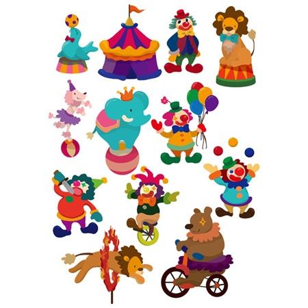 vector,cartoon,circus,vectors,acts,big top,cartoon circus,circus clown,circus tent,juggling vector