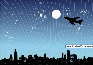 creative,design,download,illustration,illustrator,new,night,original,pack,photoshop,vector,web,airplane,background,city,modern,silhouette,unique,vectors,ultimate,jet,skyline,quality,fresh,high quality,vector graphic,jetliner vector