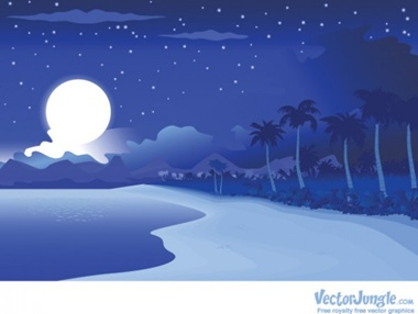creative,design,download,illustration,illustrator,moon,new,night,original,pack,photoshop,vector,web,background,beach,modern,silhouette,unique,vectors,ultimate,palms,tropical,quality,fresh,high quality,vector graphic,tropics,moon rise vector