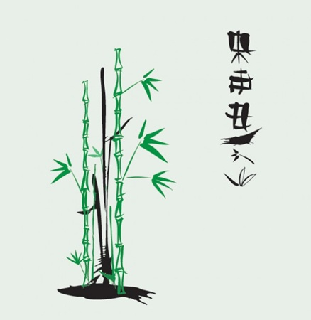 bamboo,creative,design,download,garden,illustration,illustrator,nature,new,original,pack,photoshop,vector,web,japan,modern,unique,vectors,ultimate,zen,japanese,quality,asian,characters,fresh,high quality,vector graphic,ink illustration vector