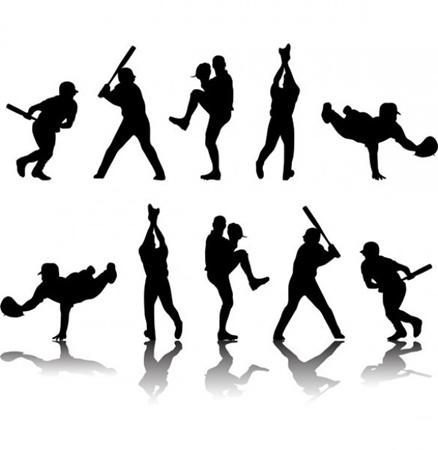 creative,design,download,game,graphic,illustrator,original,vector,web,action,baseball,silhouette,unique,vectors,quality,figures,stylish,fresh,high quality,baseball player,baseball player silhouette vector