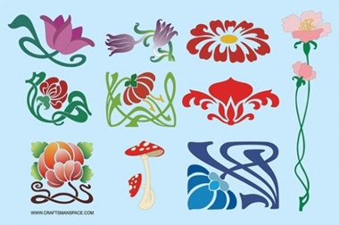 art,creative,design,download,graphic,illustrator,nature,new,original,vector,web,flowers,floral,unique,decoration,vectors,plants,elegant,quality,curves,stylish,fresh,art nouveau,high quality,ui elements,floral artwork vector