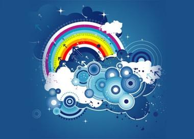 blue,clouds,creative,new,photoshop,psd,circles,modern,vectors,swirls,fresh,innovative,urban vector