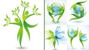 blue,earth,globe,green,leaf,nature,planet,world,water,dance,protection,dynamic,vectors,icon,trees,environmental,eco,go green,ecology,save  planet vector