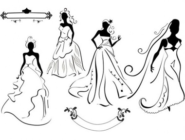 creative,design,download,graphic,illustrator,new,original,vector,web,wedding,silhouette,unique,vectors,dress,quality,bride,stylish,fresh,wedding dress,bridal,high quality,ui elements,hires,bride silhouette vector