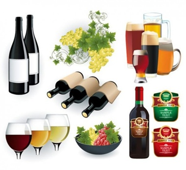 clean,creative,design,download,elements,new,original,web,simple,beer,wine,detailed,interface,bottle,modern,unique,vectors,grapes,quality,stylish,fresh,ui elements,hires,beer glass,wine glass,wine bottle,wine label vector