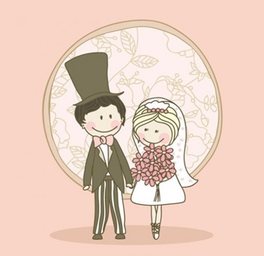 creative,design,download,graphic,illustrator,original,vector,web,wedding,unique,vectors,quality,bride,groom,stylish,fresh,hand drawn,high quality,bridal couple,wedding day vector