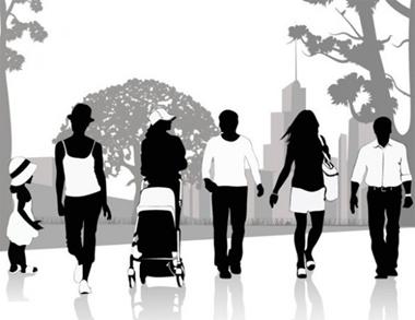 child,creative,design,download,graphic,illustrator,original,vector,web,people,silhouette,unique,vectors,quality,stylish,walking,fresh,high quality,people silhouettes,city park vector