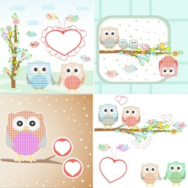 card,creative,design,download,graphic,heart,illustration,illustrator,love,original,vector,web,hearts,birds,background,owl,unique,sweet,vectors,quality,stylish,fresh,high quality,owls,quaint vector