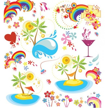 cocktail,creative,design,download,graphic,illustrator,original,sun,vector,web,hearts,splash,rainbow,sea,unique,vectors,summer,palm tree,quality,butterflies,stylish,fresh,high quality,summertime vector