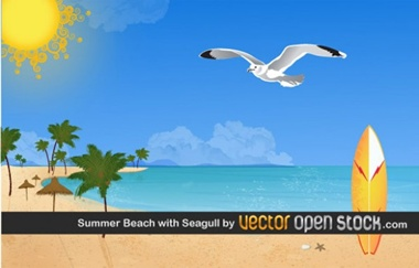 creative,download,illustration,illustrator,original,pack,photoshop,sun,vector,ocean,beach,modern,sunny,unique,vectors,surfboard,palms,tropical,seagull,quality,fresh,high quality,vector graphic vector