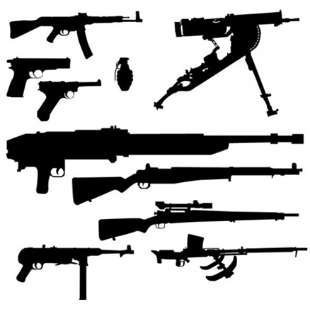 clean,creative,design,download,elements,new,original,set,web,detailed,interface,modern,unique,vectors,shotguns,ww2,weapons,arms,quality,stylish,fresh,ui elements,silhouettes,hires,armaments,grenades,hand guns,machine guns,pistols,rifles vector
