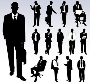 business,creative,design,download,eps,graphic,illustrator,men,original,vector,web,unique,vectors,quality,stylish,businessman,fresh,high quality,silhouettes,businessmen,suit and tie vector