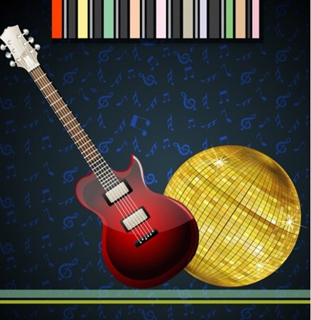 blue,creative,design,download,elements,gold,graphic,guitar,illustrator,music,new,original,vector,web,background,detailed,interface,unique,electric,vectors,quality,stylish,fresh,high quality,ui elements,hires,musical notes,disco ball vector