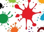 Paint Splatters Splats & Spills Vector Set