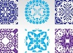 Colorful Seamless Pattern Tiles Vector