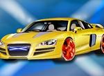 Yellow Audi