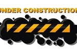 Bold Under Construction Sign Vector Graphic