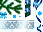 Christmas Season Vector Elements Set