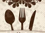 Vintage Floral Restaurant Menu Cover