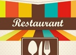 Retro Style Restaurant Menu Cover