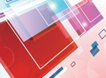 Abstract Layered Panels Background