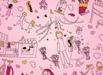 Home & Family Sketch Doodle Vector Art