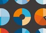 9 Infographic UiPie Charts Vector Set