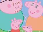 Cartoon Animated Peppa Pig & Family Vector Illustration