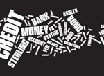 Business Financial Word Cloud Vector
