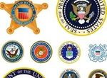 USA Symbols And Badges Vector Set