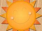 Cheery Layered Sun Template PSD