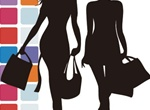 Modern Fashion Shopping Silhouette