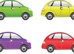 4 Little Vector Cars