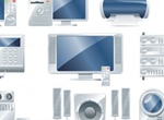 Collection Of Vector Electronic Devices