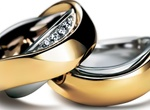 Realistic Wedding Rings Vector