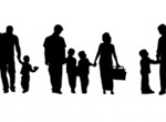 5 Family Silhouette Vector Pack