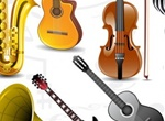 Musical Instruments Microphones Vector Graphics