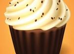Delightful Cupcake Dessert Vector
