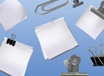 Paper Clip Vector Graphics Pack