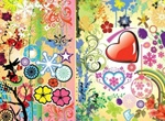 Cool Colorful Vector Art Design Pack