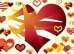 Vector Hearts Graphics Pack