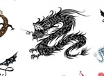 11 Detailed Vector Dragon Graphics