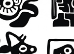 4 Traditional Mayan Vector Designs
