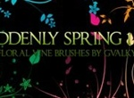Suddenly Spring Brushes