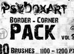 Border Corner Brushes