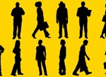 16 Vector Human Silhouettes Pack