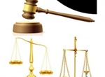 Justice Theme Scales Gavel Vector Graphics
